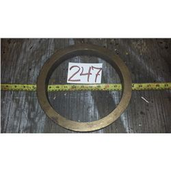 """Brass 660 round part 1""""thick / 1""""3/8 large"""