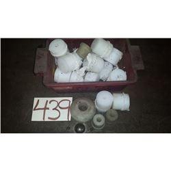Box of UHMW pieces