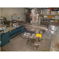 SAJO Milling Machine Veritcal/Horizontal 575v with Indexable Table and indexable Head (perfect for a