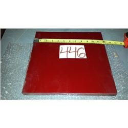 "Urethane Plate (around) 12"" x 12"" x 3/4"""