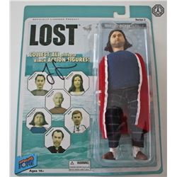 LOST Action Figure Set of 12: Bif Bang Pow! (Hurley Signed by Jorge Garcia)