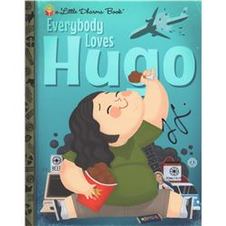 LOST Art Print: Everybody Loves Hugo, Signed by Jorge Garcia