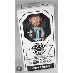 LOST Bobble Head: Daniel Faraday, Signed by Jeremy Davies (Rare)