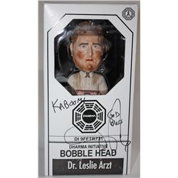 LOST Bobble Head: Dr. Leslie Arzt, Signed by Daniel Roebuck