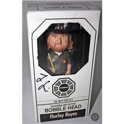 LOST Bobble Head: Hurley Reyes, Signed by Jorge Garcia (Rare)