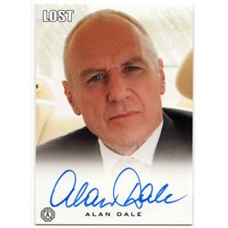 LOST Charles Widmore Autograph Card Signed by Alan Dale