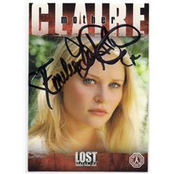 LOST Claire Littleton Trading Card Signed by Emilie de Ravin