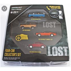 LOST Diecast Vehicle Package
