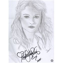 LOST Emilie de Ravin Custom Sketch Signed by Emilie de Ravin