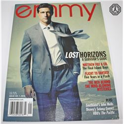 LOST Emmy Magazine Matthew Fox Issue