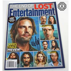 LOST EW Magazine Cover Issue Signed by Damon Lindelof
