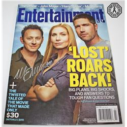 LOST EW Magazine Cover Issue Signed by Michael Emerson