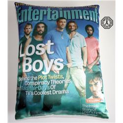 LOST EW Magazine Cover Pillow