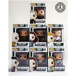 LOST Funko Pop! Set of 8 (Hurley Signed by Jorge Garcia)