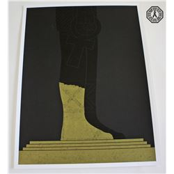 LOST Limited Edition ARG Screen-Print: Four Toed Statue