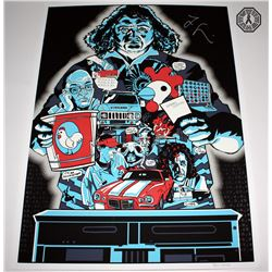 LOST Limited Edition ARG Screen-Print: Hurley's Curse, Signed by Jorge Garcia
