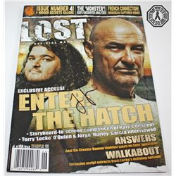 LOST Magazine Signed by Jorge Garcia