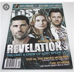LOST Magazine Signed by Michael Emerson
