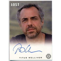 LOST Man in Black Trading Card Signed by Titus Welliver
