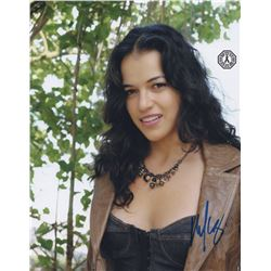 LOST Michelle Rodriguez Signed Promo Photo (Ana Lucia)