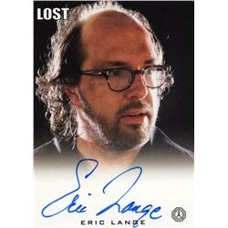 LOST Radzinsky Trading Card Signed by Eric Lange