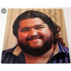 LOST Related Hurley Weezer Vinyl Album Signed by Jorge Garcia