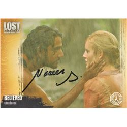 LOST Sayid Trading Card Signed by Naveen Andrews