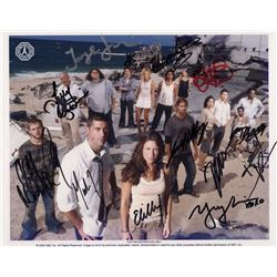 LOST Season 1 Cast Photo Signed by 13! (Rare)