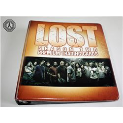 LOST Season 2 Premium Trading Card Set in Binder