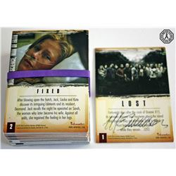 LOST Season 2 Premium Trading Card Set Signed by Michael Emerson