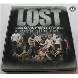 LOST Season 2 Revelations Premium Trading Card Set in Binder