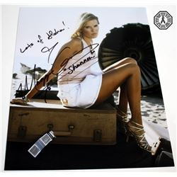 LOST Shannon Rutherford Photo Signed by Maggie Grace
