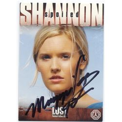 LOST Shannon Rutherford Trading Card Signed by Maggie Grace