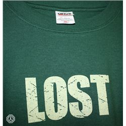 LOST T-Shirt: Green, Long Sleeve