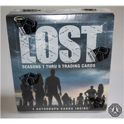 LOST Trading Cards Sealed Box Set: Seasons 1-5