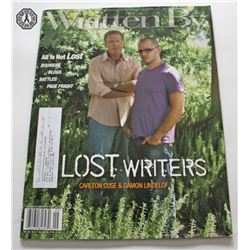 LOST Writers Written By WGA Magazine Cover Issue