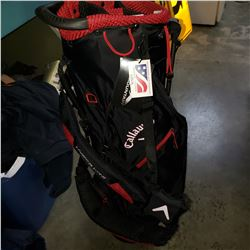 NEW CALLAWAY HYPER LITE GOLF BAG
