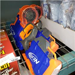 2 NERF HYPERFIRE ELITE NERF GUNS