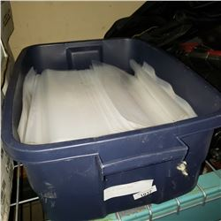 TOTE OF PLASTIC BAGS