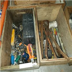 3 CRATES OF TOOLS