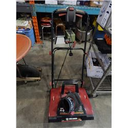 "KING CANADA 18"" ELECTRIC SNOW THROWER"
