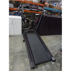 LIMITED EDITION FREE SPIRIT FOLDING TREADMILL WORKING