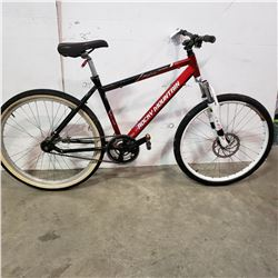 RED BLACK ROCKY MOUNTAIN BIKE