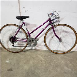 PURPLE BRENT WOOD ROAD BIKE