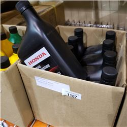 BOX OF HONDA MANUAL TRANSMISSION FLUID