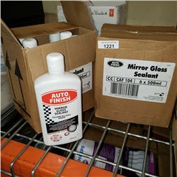 TWO CASES OF AUTO FINISH MIRROR GLOSS SEALANT