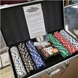 CASED POKER CHIP SET
