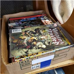 APPROX 100 COLLECTIBLE COMICS