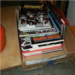 BOX OF GRAPHIC NOVELS