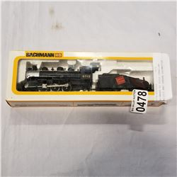 BACHMANN HO SCALE CANADIAN PACIFIC AND TENDER LOCOMOTIVE
